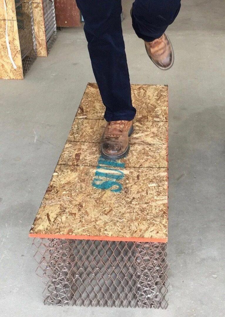 <h4>If you can't walk on it, how can you build on it?</h4>